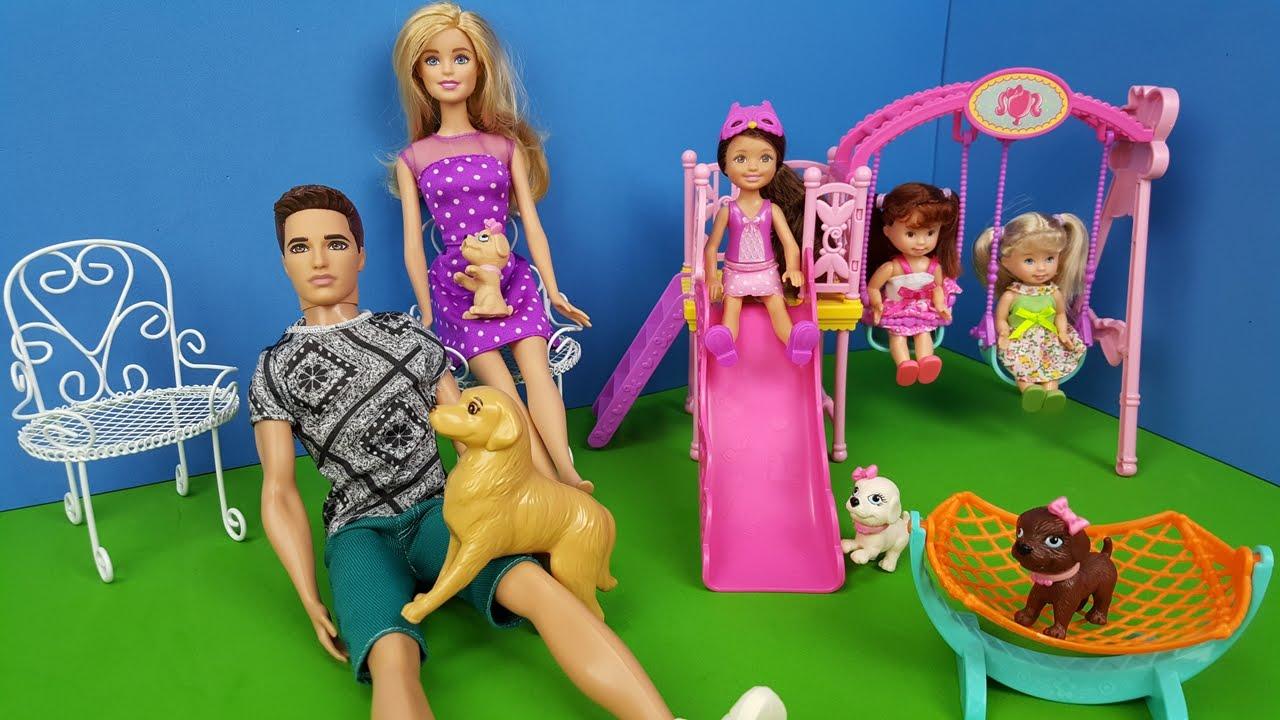 Download Brincando no Parquinho com Novas Amiguinhas Novelinha Barbie Vida Nova Parte 17