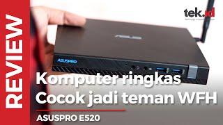 ASUSPRO E520, PC ringkas teman WFH