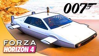 СЕКРЕТНЫЕ МАШИНЫ АГЕНТА 007: ДЖЕЙМСА БОНДА В FORZA HORIZON 4