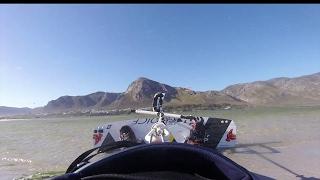 Kiteboarding hermanus in za - cape town - trial and error - # ben's quick clip