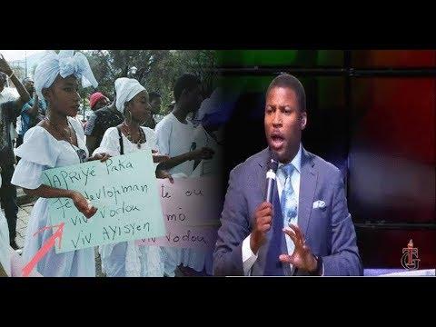 Pastè Gregory reponn Vodouyizan yo ki estomake poutèt Jovenel mande pou tout Ayisyen Konvèti