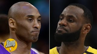 LeBron James is about to pass Kobe Bryant on the NBA's all-time scoring list | The Jump