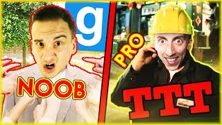 OD ZDRAJCY NOOB DO ZDRAJCY PRO! | Garry's mod [#844] - TTT [#178] (With: EKIPA) #BLADII