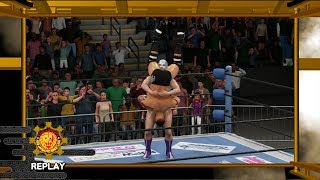 WIWA Wrestling Match #271: Ricochet vs Buena Girl