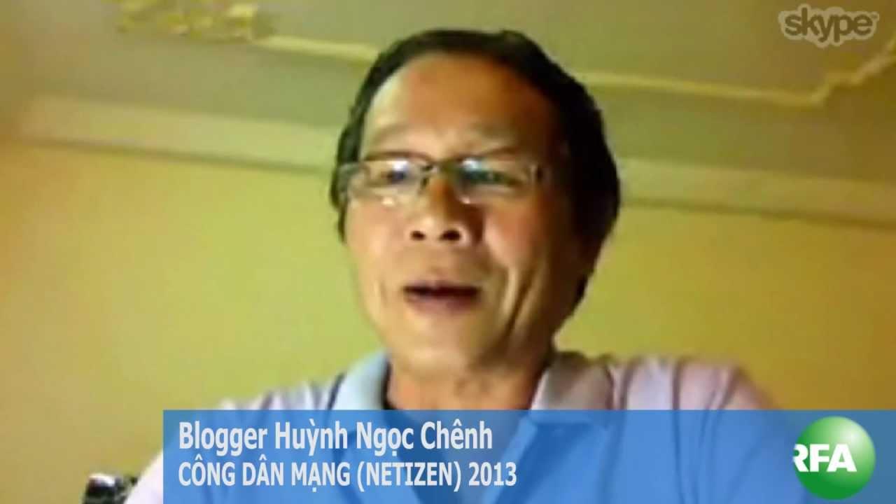 Huỳnh Ngọc Chênh thắng giải Công dân mạng 2013