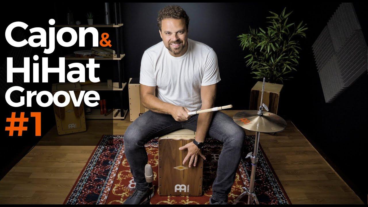 CAJON & HiHAT Groove! - Cajon Groove Library