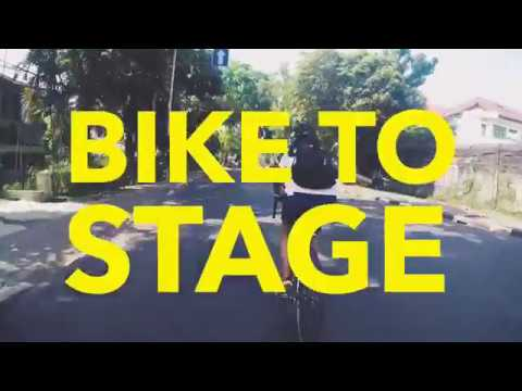 Endah N Rhesa Bike To Stage - Synchronize 2017