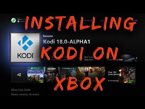 Installing KODI On Your Xbox Console