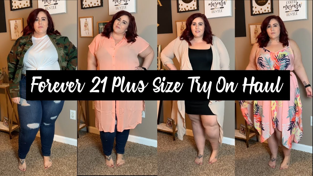 034fcaf840f Forever21 - Plus Size Try on Haul - YouTube