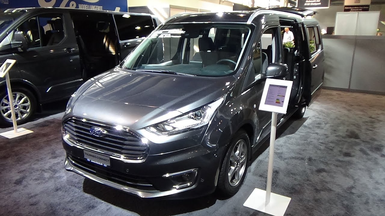 2019 ford tourneo connect grand titanium exterior and. Black Bedroom Furniture Sets. Home Design Ideas