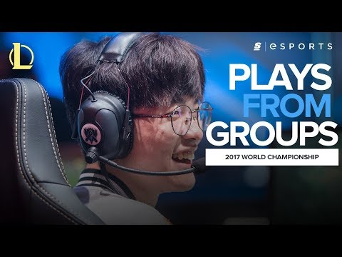 The BEST plays from the 2017 World Championship Group Stage (Featuring: Faker, Hauntzer and Archie)