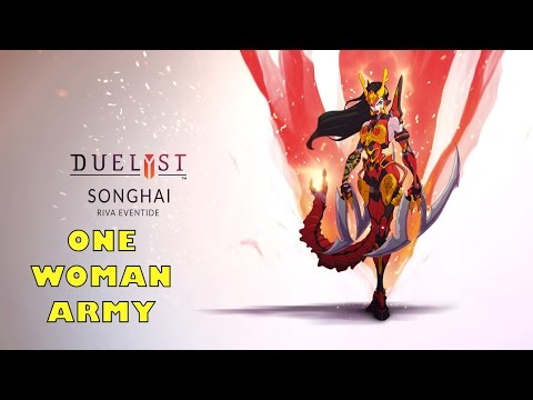 [Duelyst] Ranked - One Woman Songhai