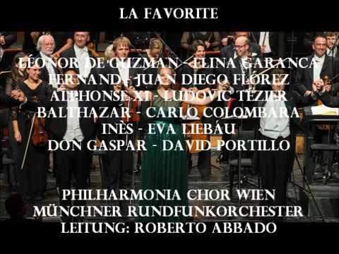 "Roberto Abbado conducts ""La favorite"" - Donizetti - Elīna Garanča & Juan Diego Flórez"