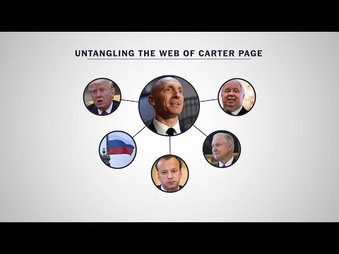 Untangling the web of Carter Page