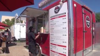 Best food truck menu boards