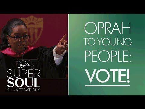 Willie Moore Jr. - WATCH! Oprah to Young People: Vote! | SuperSoul Conversations