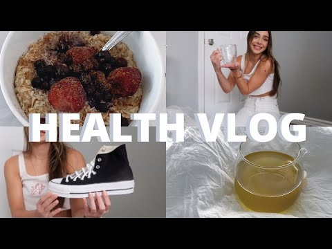 HEALTH VLOG: new internship, unboxing haul, healthy + simple meals, & healthy habits