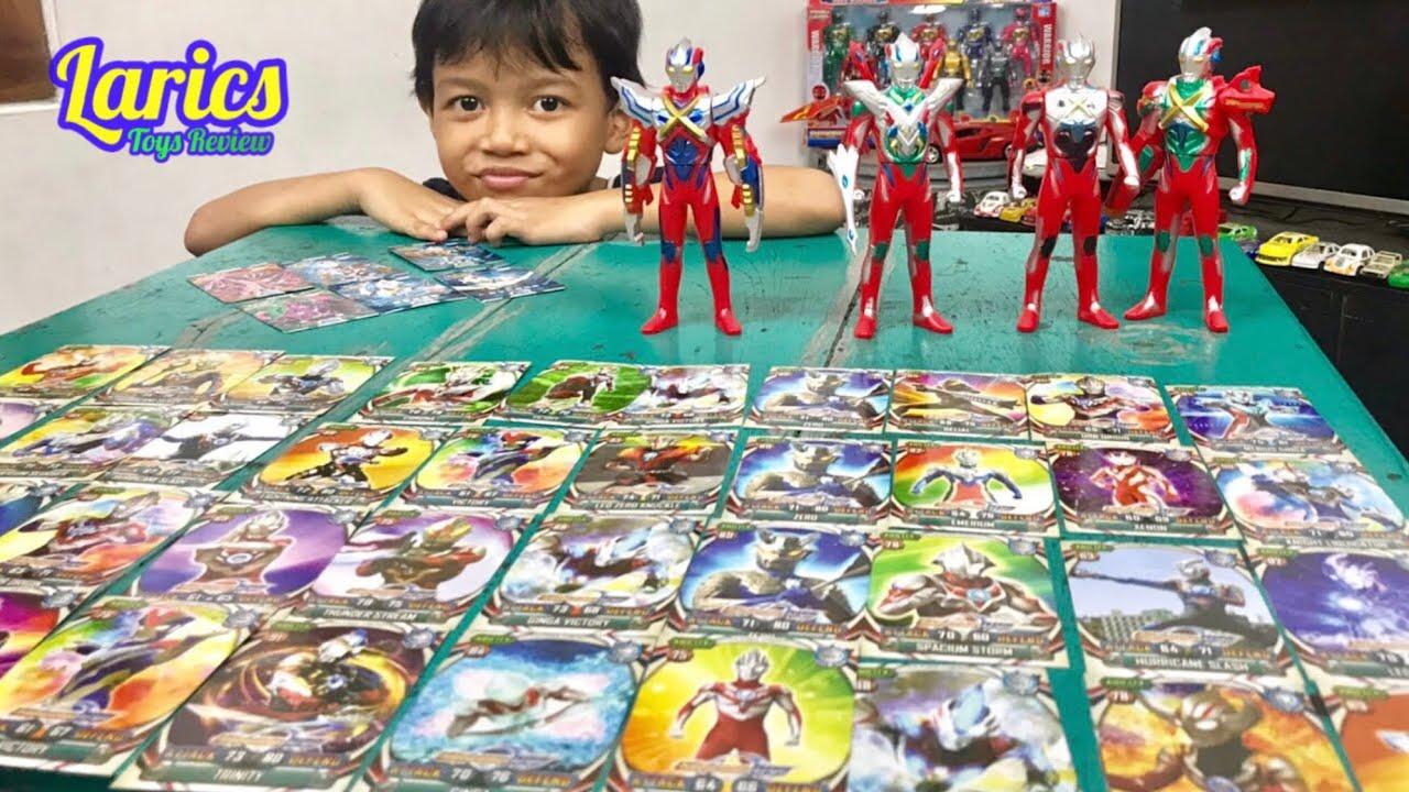 Kartu Ultraman Orb Banyak Banget Lucu Banget Saat Dimainkan Youtube
