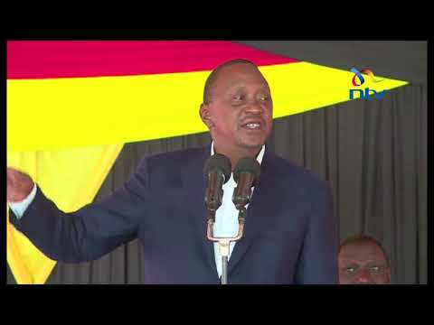 There will be no power vacuum if the election is not held in 60 days - President Uhuru Kenyatta
