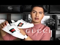 GUCCI ACE SNEAKERS!!
