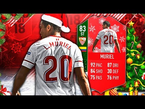 FUTMAS MURIEL 83! THIS CARD IS BROKEN! FIFA 18 ULTIMATE TEAM