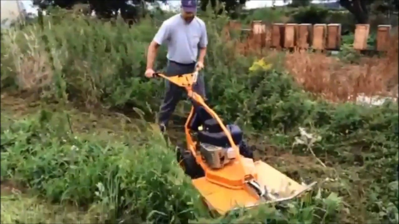 as 73 4t b&s allmäher mulchmäher hochgrasmäher 73/2 vs test - youtube