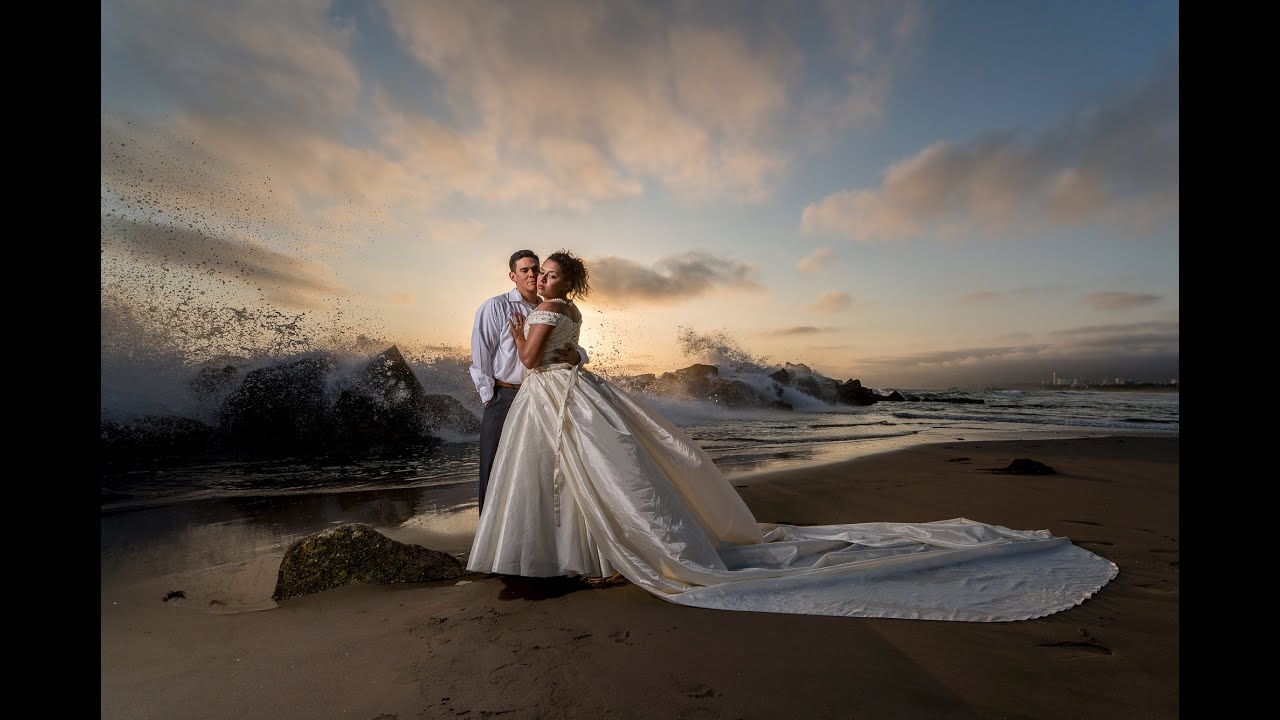 Speedlight Wedding Photography: AMAZING RESULTS Using Off Camera Flash, A Beauty Dish, And