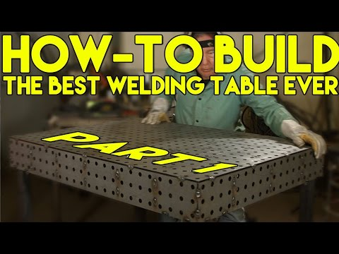 🔥 How to Build a CertiFlat Welding Table: Step by Step - Part 1 (FabBlock) | MIG Monday
