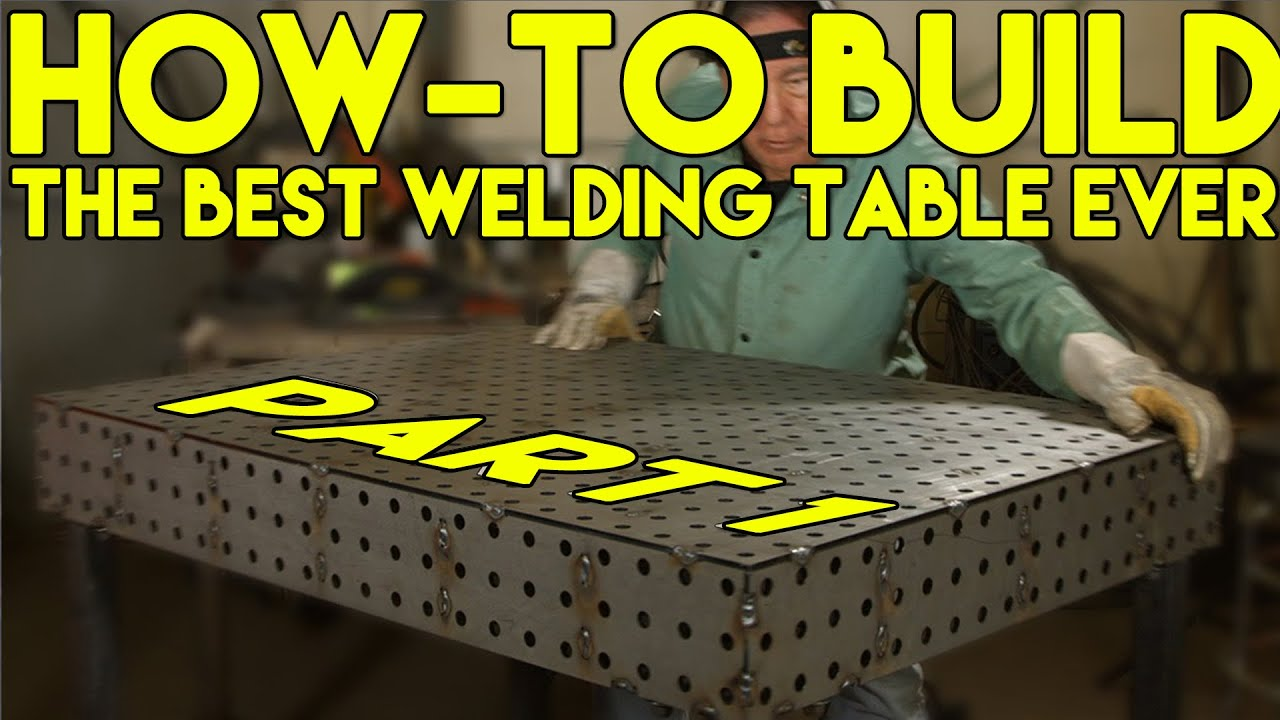How To Build A Certiflat Welding Table Step By Step