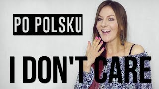 I Don't Care PO POLSKU 🇵🇱 - Ed Sheeran, Justin Bieber | POLISH VERSION by Kasia Staszewska