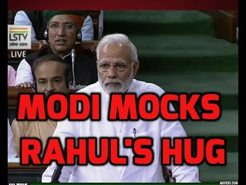 Utho Utho Utho..What is his hurry to come to power? PM Modi mocks Rahul Gandhi`s hug