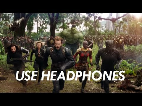 3D SOUND | USE HEADPHONES | INFINITY WAR TRAILER
