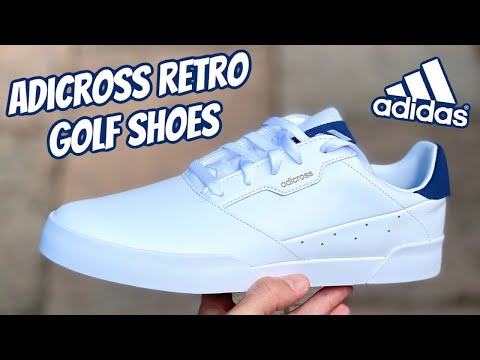 Adidas Adicross Retro Golf Shoes The Perfect Summer Golf Shoes Youtube