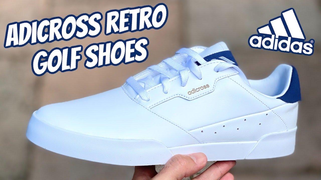 Adidas ADICROSS RETRO Golf Shoes | The Perfect Summer Golf Shoes