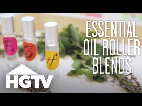 3 DIY Essential Oil Roller Blends - HGTV