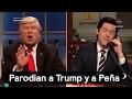 Parodian a Trump y a Peña - Trump - Denise Maerker 10 en punto