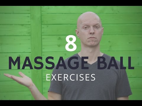 8 Massage Ball Exercises That Can Put Massage Therapists Out of Business