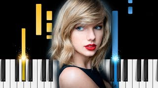 Taylor swift - gorgeous - piano tutorial / piano cover - how to play gorgeous