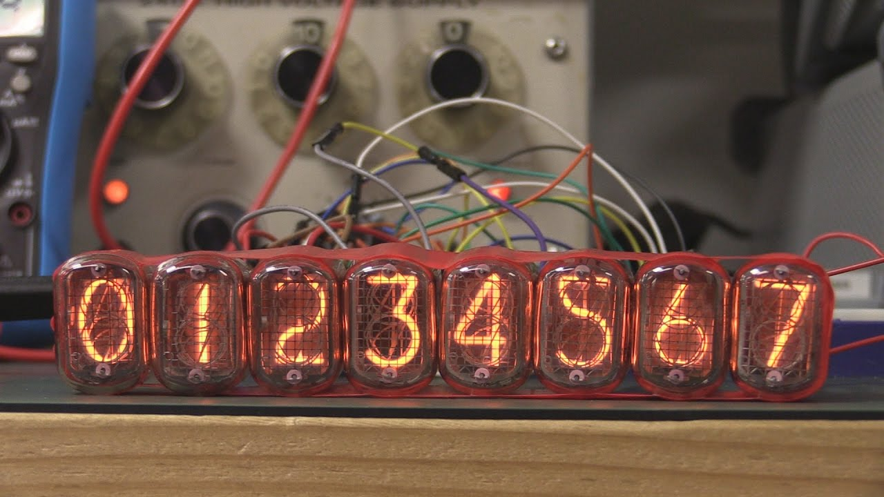 Eevblog 948 Nixie Tube Display Project Part 1 Youtube Schematic Clock Diy Circuit This