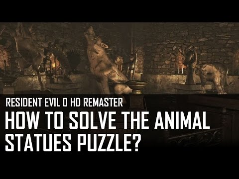 The animal statues puzzle | Training Facility Basement Walkthrough
