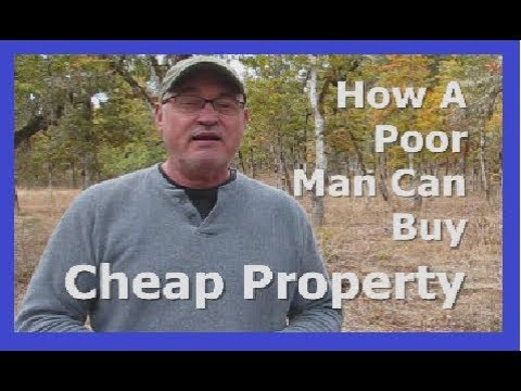 How A Poor Man Can Buy Cheap Property (Version A)