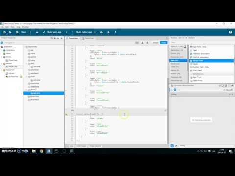 Sencha Architect - ExtJS App tutorial - Part 1: Quick creation of Ext grids