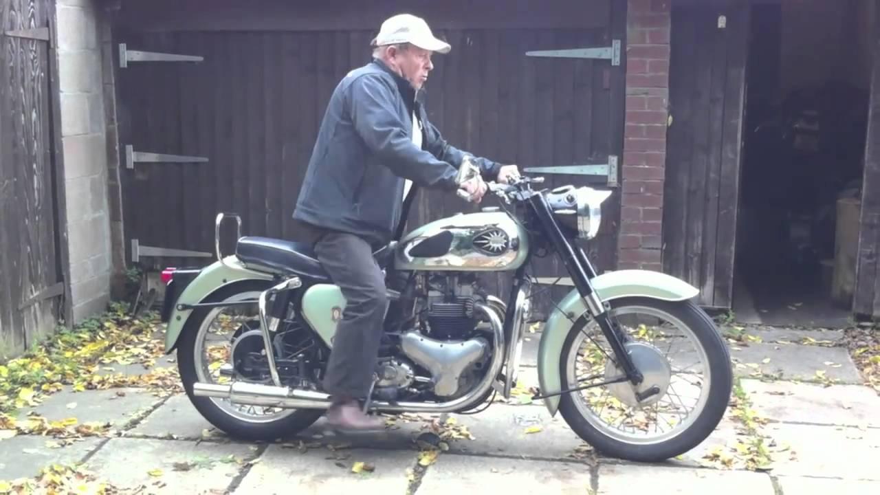 Classic Bsa 1959 Shooting Star A7 Motorbike Youtube