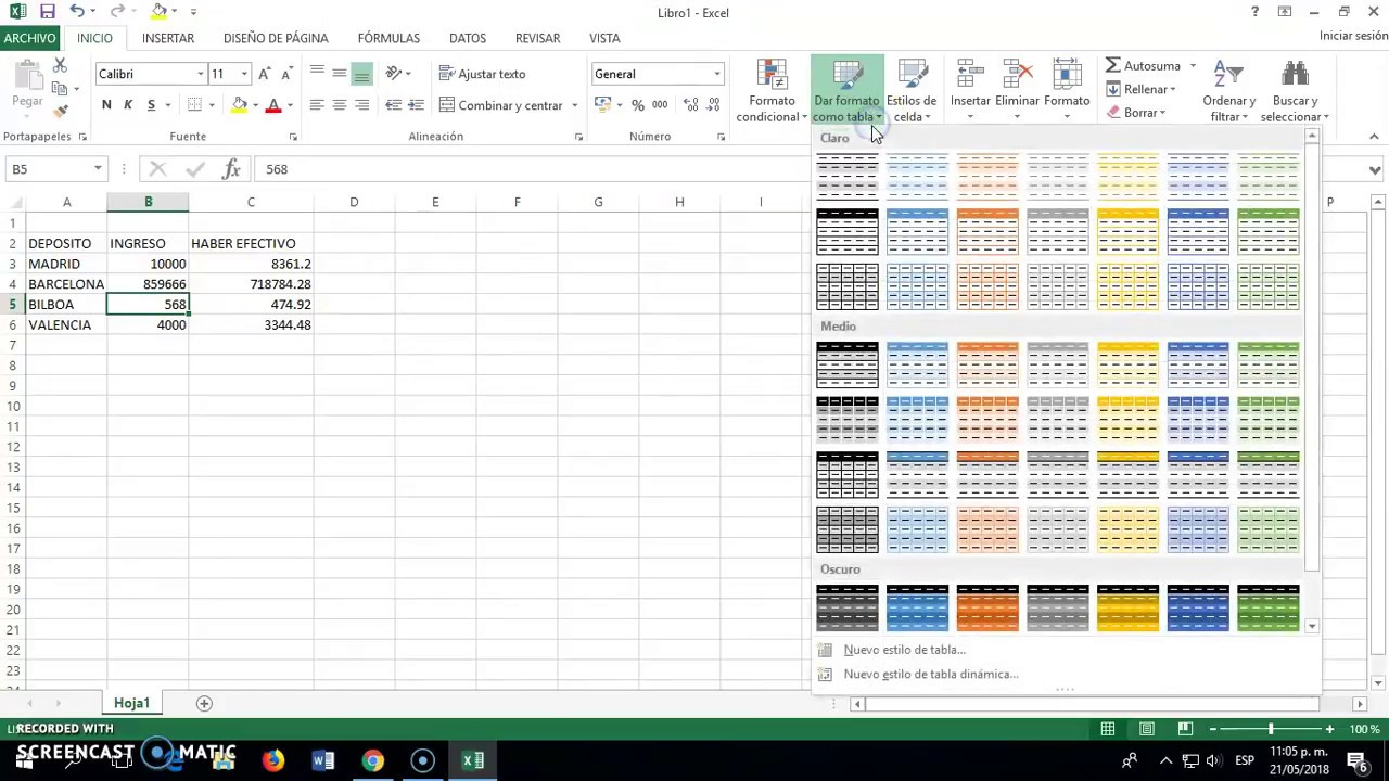 Excel Convertir Tabla En Rango Youtube