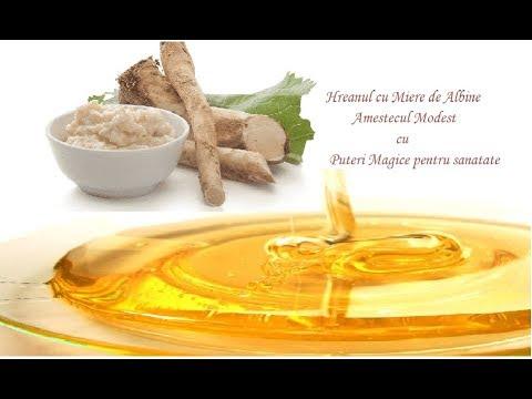 Hreanul cu Miere - Amestecul Modest cu Puteri Magice pentru Sănătate Leacuri&Sfaturi Despre Sanatate