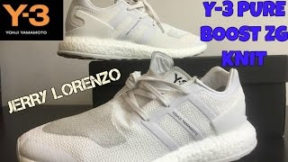 adidas y 3 pure boost zg knit review steal or not
