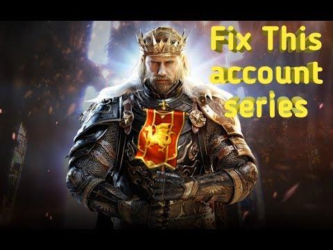King Of Avalon: Dragon Warfare | Fix This Account Series
