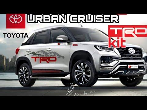 Trd Brezza New 2021 Toyota Urban Cruiser Trd Edition Youtube