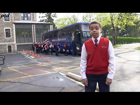 A glimpse of student life at the American Boychoir School: Runouts