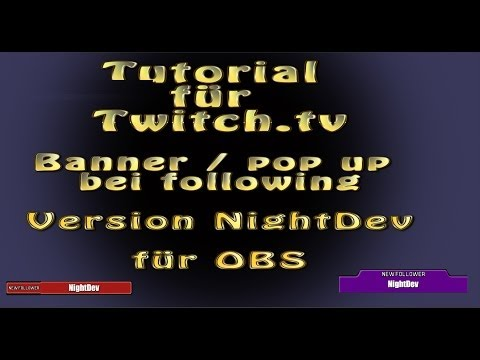 how to add twitch alerts to obs